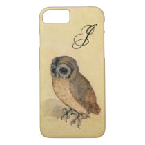Albrecht Durer The Little Owl Monogram iPhone 8/7 Case
