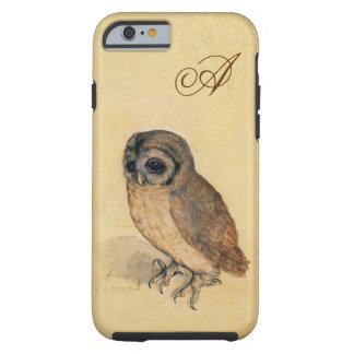 Albrecht Durer The Little Owl Monogram Tough iPhone 6 Case