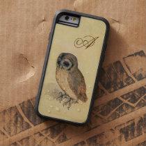 Albrecht Durer The Little Owl Monogram Tough Xtreme iPhone 6 Case