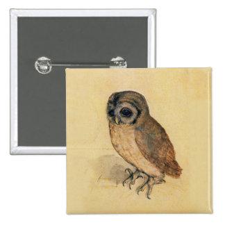 Albrecht Durer The Little Owl Pinback Button