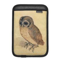 Albrecht Durer The Little Owl Sleeve For iPad Mini