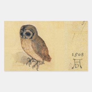 Albrecht Durer The Little Owl Sticker