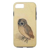 Albrecht Durer The Little Owl Vintage iPhone 7 Case