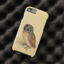 Albrecht Durer The Little Owl Vintage Tough iPhone 6 Case