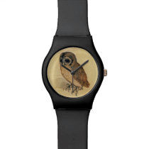 Albrecht Durer The Little Owl Wrist Watch