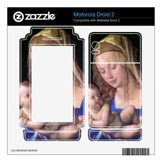 Albrecht Durer - The Madonna with the pear slices Motorola Droid 2 Skin