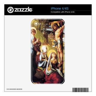 Albrecht Durer - The seven Marys pain - Christ on iPhone 4S Skin