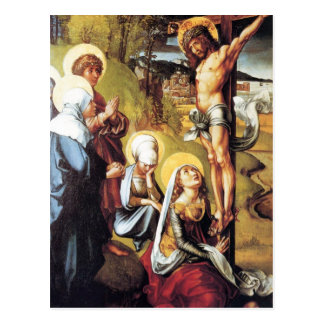 Albrecht Durer - The seven Marys pain - Christ on Postcard