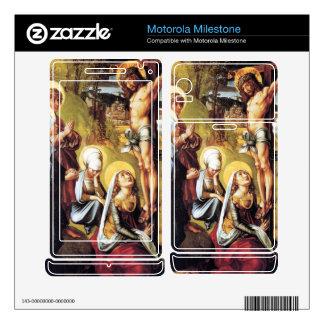 Albrecht Durer - The seven Marys pain - Christ on Motorola Milestone Decals
