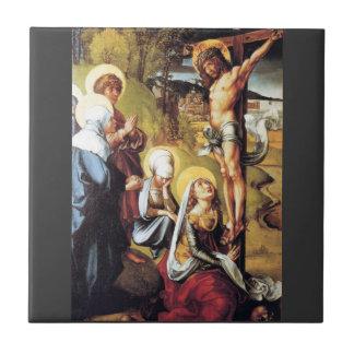 Albrecht Durer - The seven Marys pain - Christ on Tile