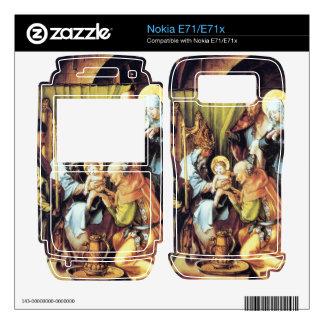 Albrecht Durer - The seven Marys pain - Circumcisi Nokia E71 Decal