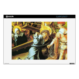 Albrecht Durer - The seven Marys pain - Crucificti Decal For Laptop