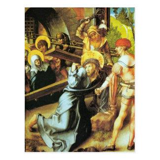 Albrecht Durer - The seven Marys pain - Crucificti Postcard