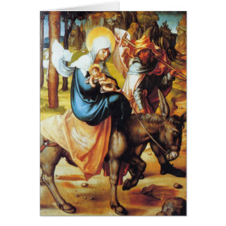 Albrecht Durer - The seven Marys pain - Flight int Card