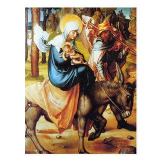 Albrecht Durer - The seven Marys pain - Flight int Postcard