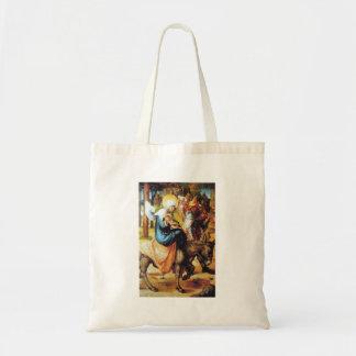 Albrecht Durer - The seven Marys pain - Flight int Tote Bag