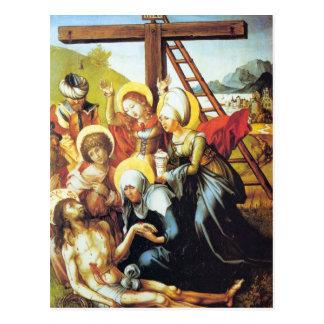 Albrecht Durer - The seven Marys pain - Lamentatio Postcard