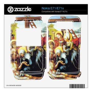 Albrecht Durer - The seven Marys pain - Lamentatio Skins For The Nokia E71
