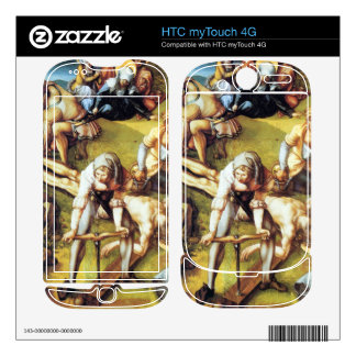 Albrecht Durer - The seven Marys pain - nailing on HTC myTouch 4G Decal