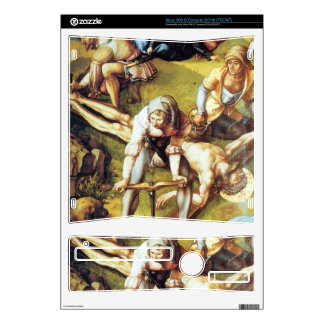 Albrecht Durer - The seven Marys pain - nailing on Xbox 360 S Console Skin