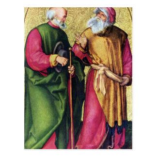 Albrecht Durer - Three altar detail Postcard