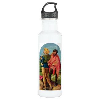 Albrecht Durer - Three altar detail Stainless Steel Water Bottle