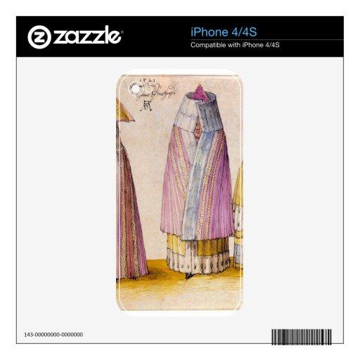 Albrecht Durer - Three Livlanders iPhone 4S Decal