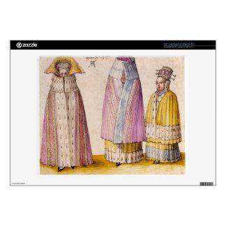 Albrecht Durer - Three Livlanders Laptop Skin