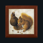 "Albrecht Durer - Two Squirrels, One Eating A Hazel Gift Box<br><div class=""desc"">Albrecht Durer - Two Squirrels,  One Eating A Hazel</div>"