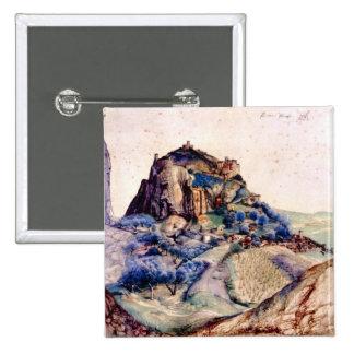 Albrecht Durer - View of Arco 2 Pinback Buttons