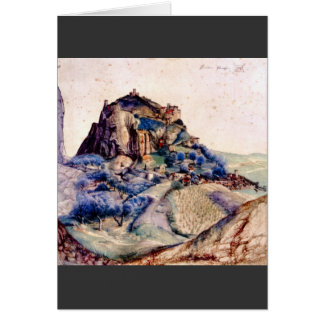 Albrecht Durer - View of Arco 2 Card