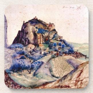 Albrecht Durer - View of Arco 2 Drink Coasters
