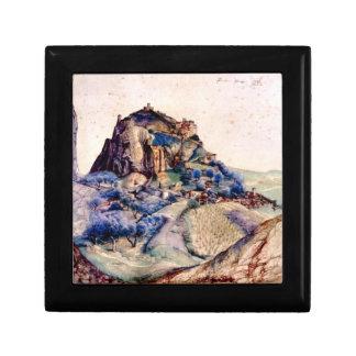 Albrecht Durer - View of Arco 2 Jewelry Box