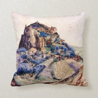 Albrecht Durer - View of Arco 2 Pillow