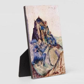 Albrecht Durer - View of Arco 2 Display Plaque