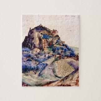 Albrecht Durer - View of Arco 2 Jigsaw Puzzle