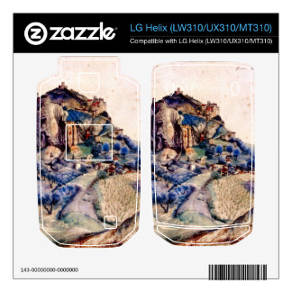 Albrecht Durer - View of Arco 2 Decal For LG Helix