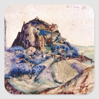 Albrecht Durer - View of Arco 2 Stickers