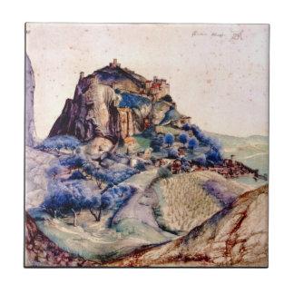 Albrecht Durer - View of Arco 2 Tiles