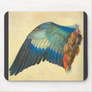 Albrecht Durer - Wing of a Blaurake Mouse Pad