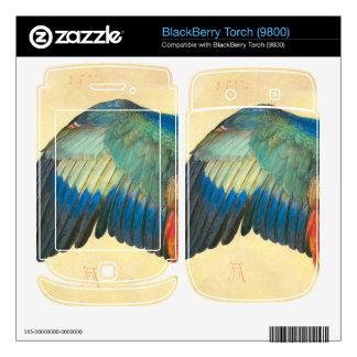 Albrecht Durer - Wing of a Blaurake BlackBerry Skins