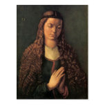 Albrecht Durer - Woman with curly hair Post Cards