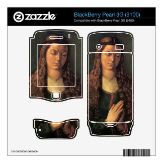Albrecht Durer - Woman with curly hair BlackBerry Pearl Decal