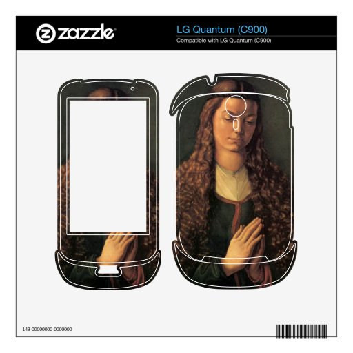 Albrecht Durer - Woman with curly hair LG Quantum Skins