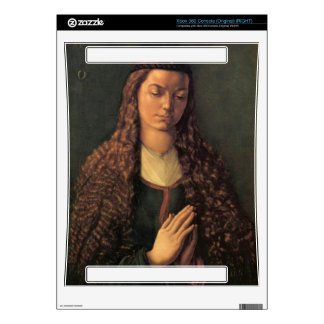 Albrecht Durer - Woman with curly hair Decal For Xbox 360