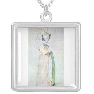 Albrecht Durer - Womans dress in church Necklaces