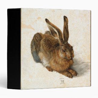 ALBRECHT DÜRER - Young hare 1502 3 Ring Binder