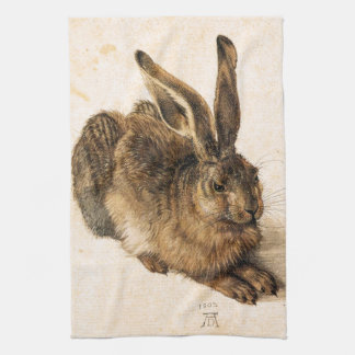 Albrecht Durer Young Hare Kitchen Towel