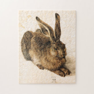Albrecht Durer Young Hare Puzzle