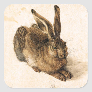Albrecht Durer Young Hare Stickers